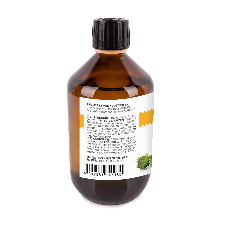 MeaVita aceite de ricino - puro, natural, vegano, sin hexano, no ...