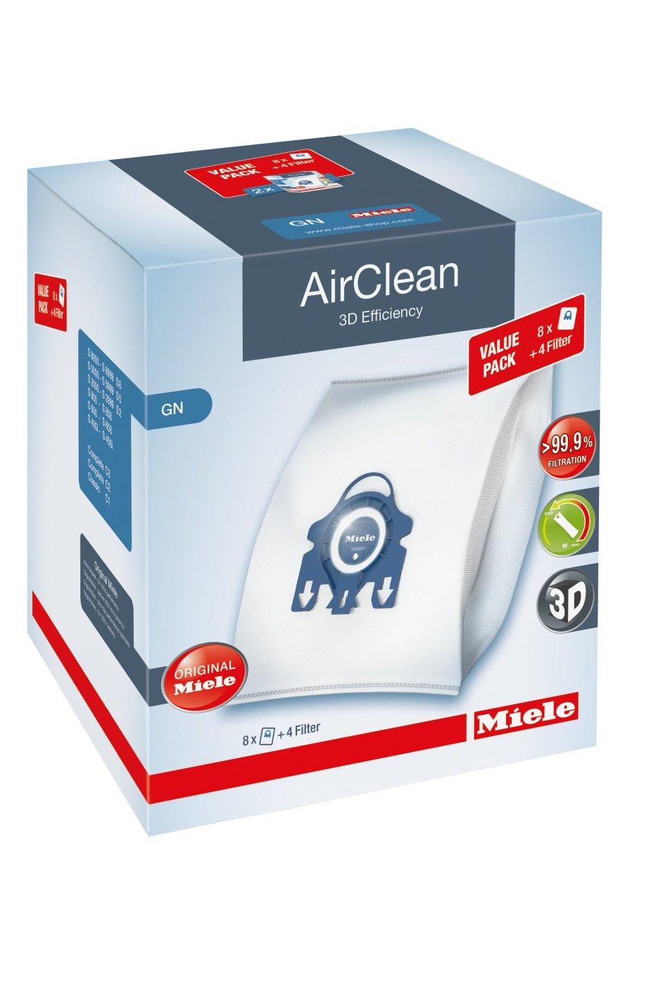 Miele AirClean 3D XL-Pack GN Dust Vacuum Bag, White by Miele
