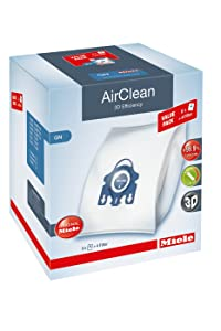 Miele AirClean 3D XL-Pack GN Dust Vacuum Bag, White