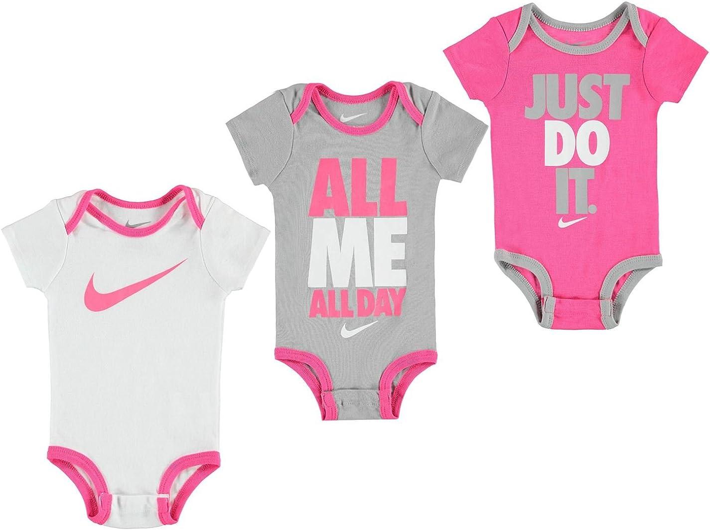 Nike Swoosh 3 Pack Romper Baby Boys