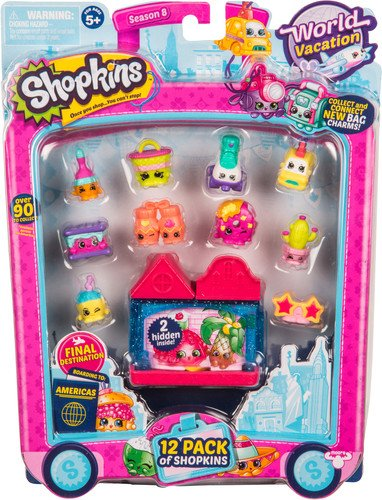 Shopkins Season 8 America Toy 12 Pack