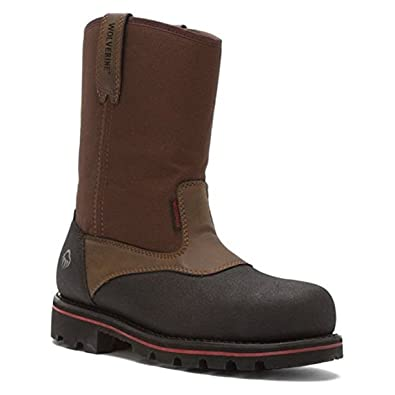 Men's Wolverine Drillbit Oil Rigger Waterproof Steel-Toe EH Wellington Work Boot outlet locations cheap low shipping outlet find great discount for cheap pYSXiu9hg