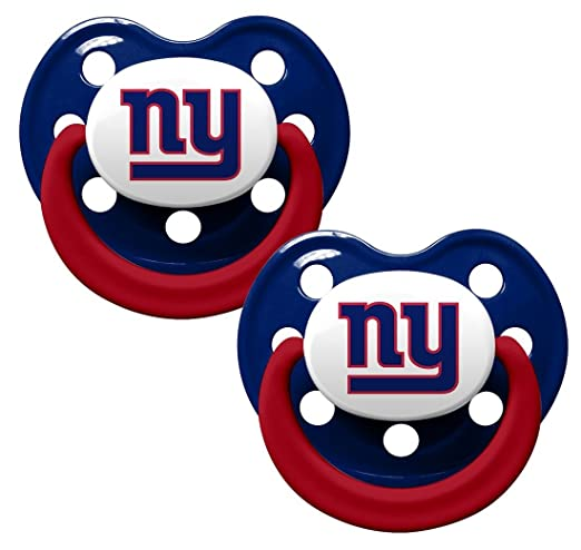 Amazon.com: baby fanatic chupete, New York Giants: Baby
