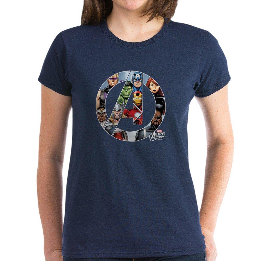 85950f0843e CafePress Avengers Assemble Womens Cotton T-Shirt
