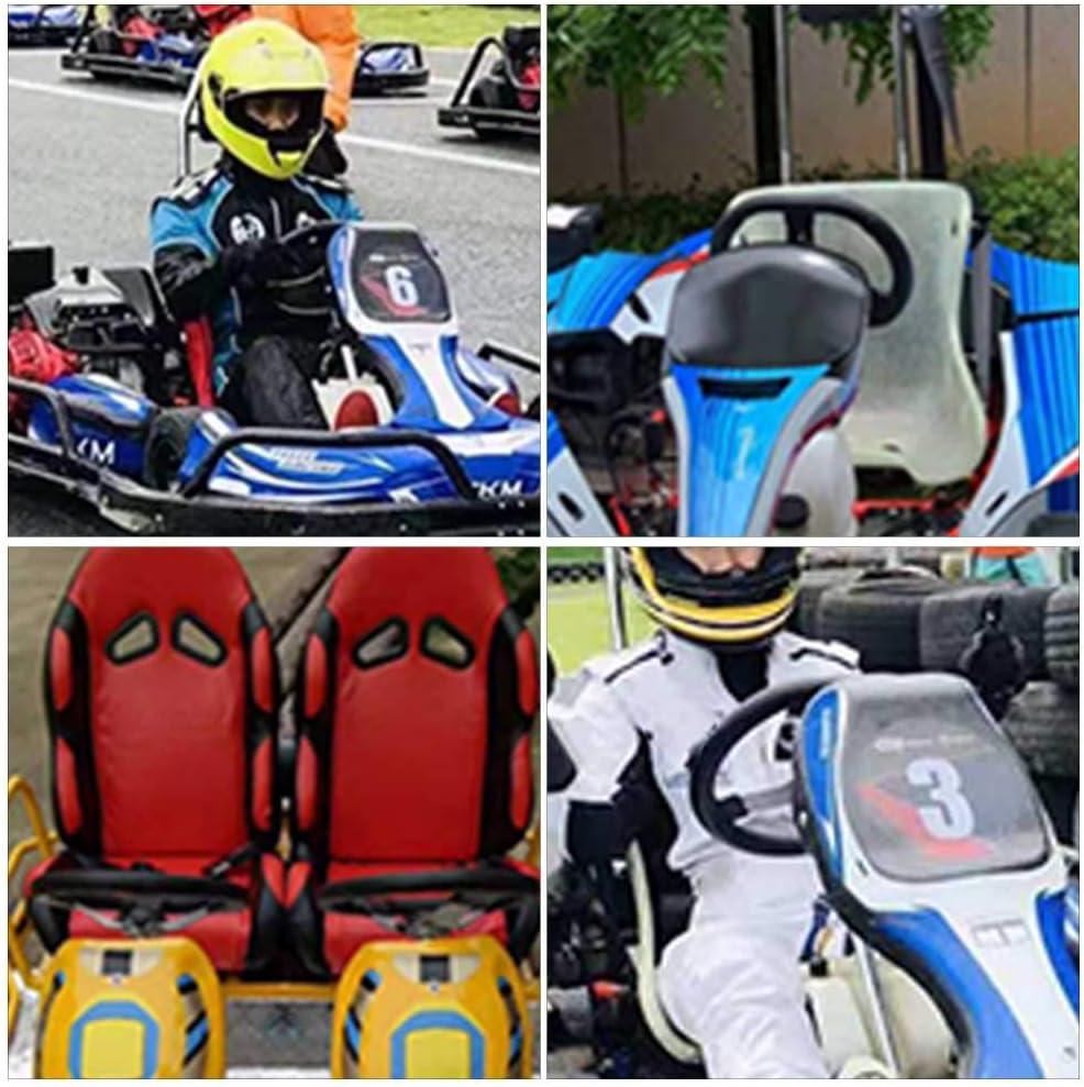 Off-Road Kart Steering Wheel 270mm 3 Spokes Vehicle PU Foam Interior Steering Wheel For Go Kart