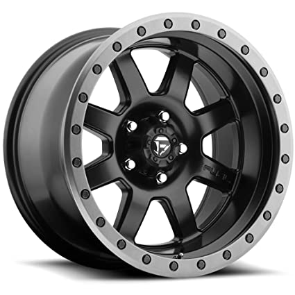 Fuel Trophy Wheels >> Fuel Trophy Bd Matte Blk Wheel With Painted 17 X 12 Inches 5 X 127 Mm 6 Mm Offset