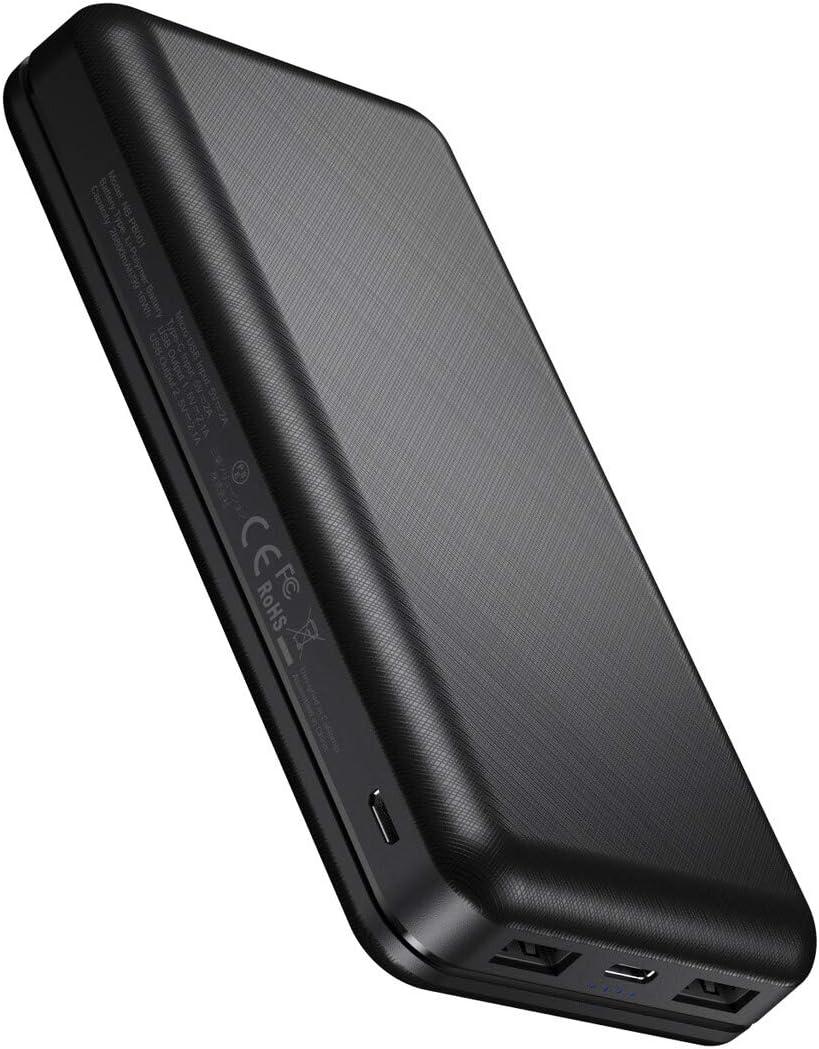 IEsafy Batería Externa 26800mAh Power Bank con 2 Salida y 2 Entrada Cargador Movil Portátil para Xiaomi Redmi Samsung Huawei y más Smartphone