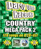 Music : Party Tyme Karaoke - Country Mega Pack 2 [8 CD + G]