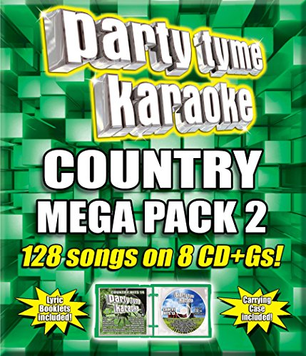 Mega Karaoke (Party Tyme Karaoke - Country Mega Pack 2 [8 CD + G])