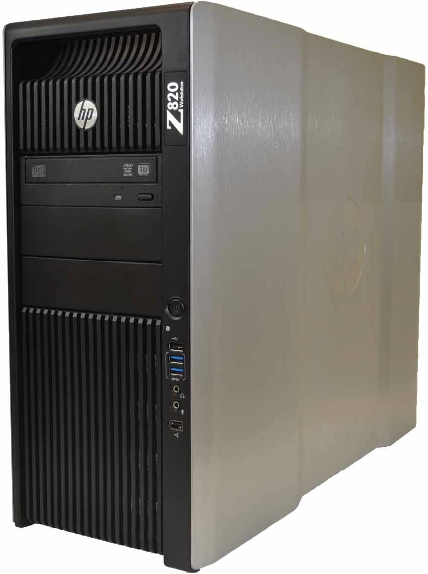 HP Z820 Workstation - 2 x E5-2690 - 128GB RAM - 500GB HDD - 256 SSD - Standard Video Card