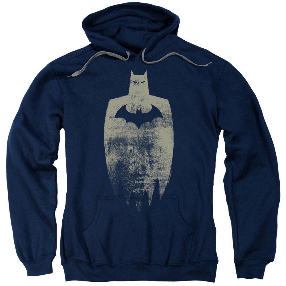 Batman - - Gold Silhouette Hoodie der Männer