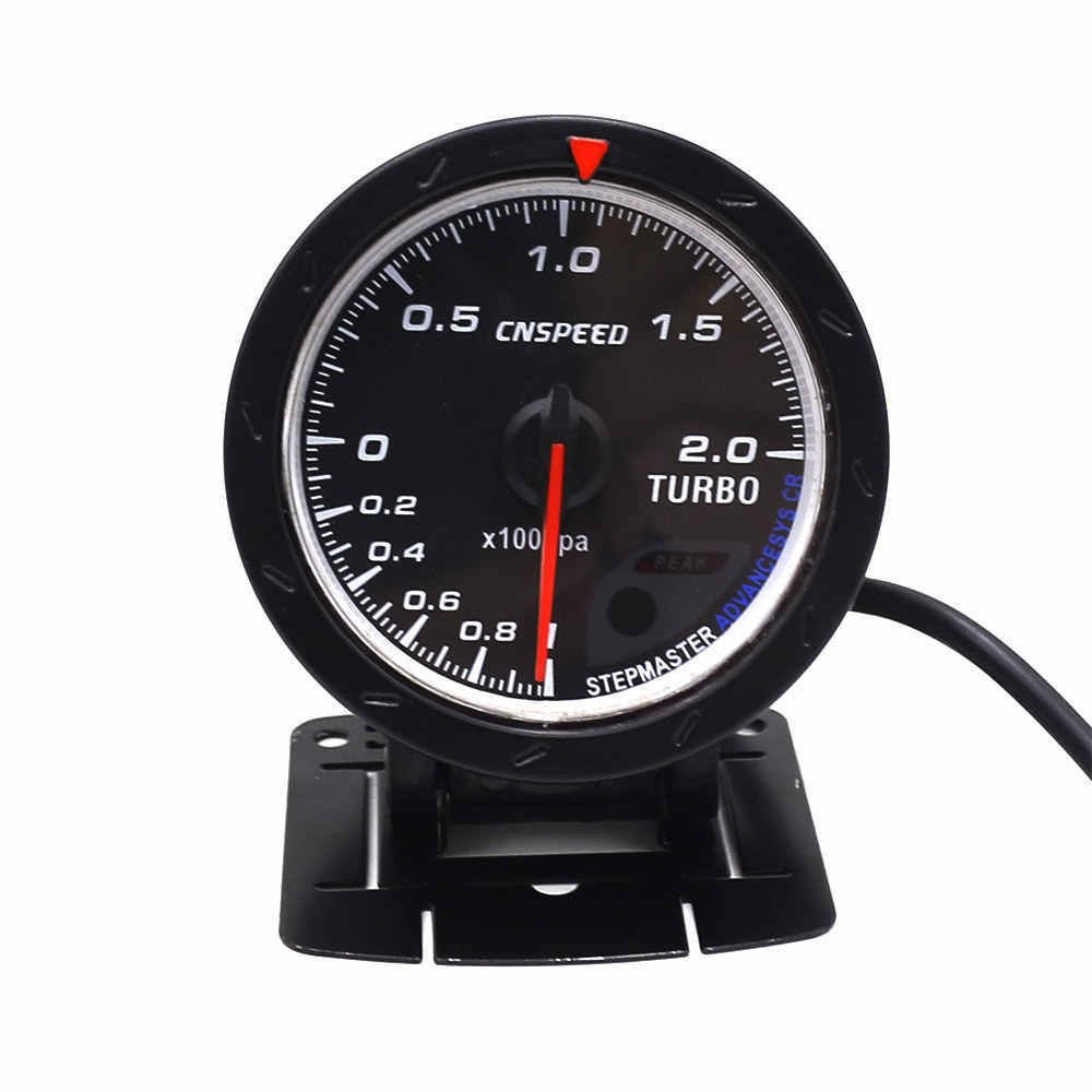 Amazon.com: CNSPEED 60MM Car Turbo Boost Gauge with Red & White Lighting: Automotive