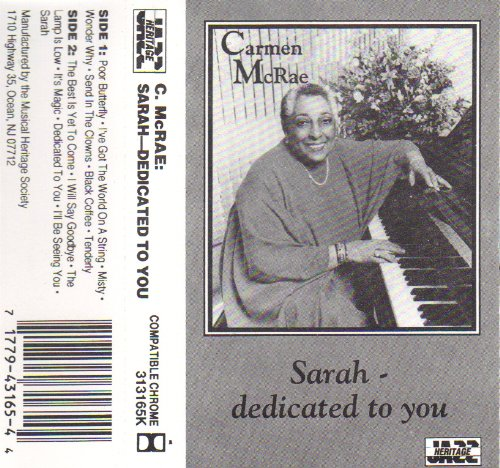 Sarah - Dedicated To You