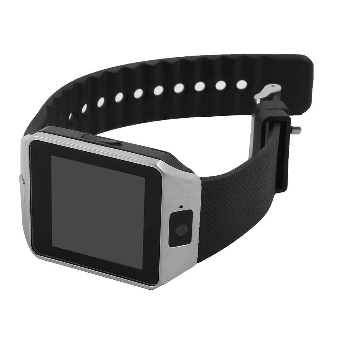 Amazon.com: eDealMax Lost-Anti Deporte DZ09 podómetro de la cámara de la tarjeta SIM jugador inteligente Reloj MP3 tono de Plata Para iOS teléfono Android: ...
