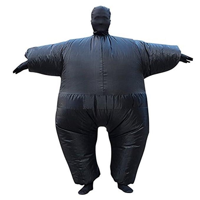 Amazon.com: Inflables disfraz traje de sumo disfraz de ...