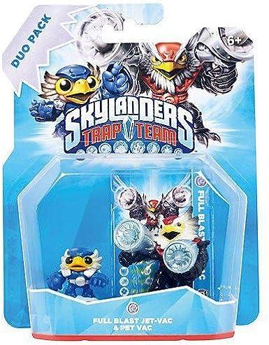 Figurine Skylanders: Trap Team - mini pack: Jet Vac + Pet Vac [Importación Francesa]: Amazon.es: Videojuegos