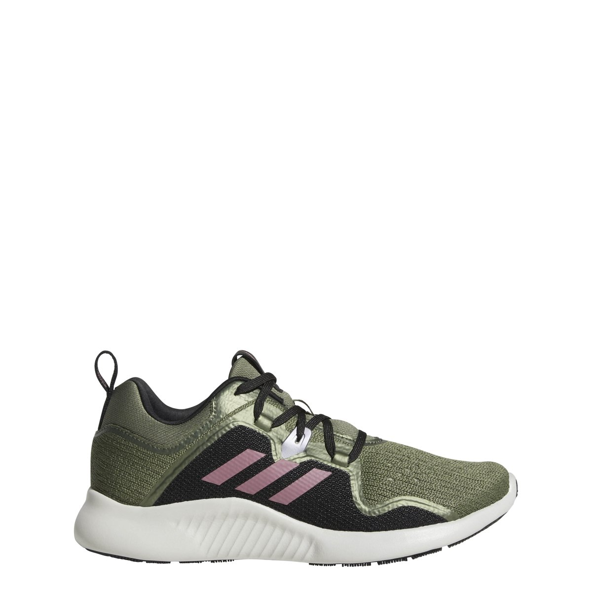 adidas Originals Women's Edgebounce Running Shoe B077XL7491 7 M US|Base Green/Black/Trace Maroon
