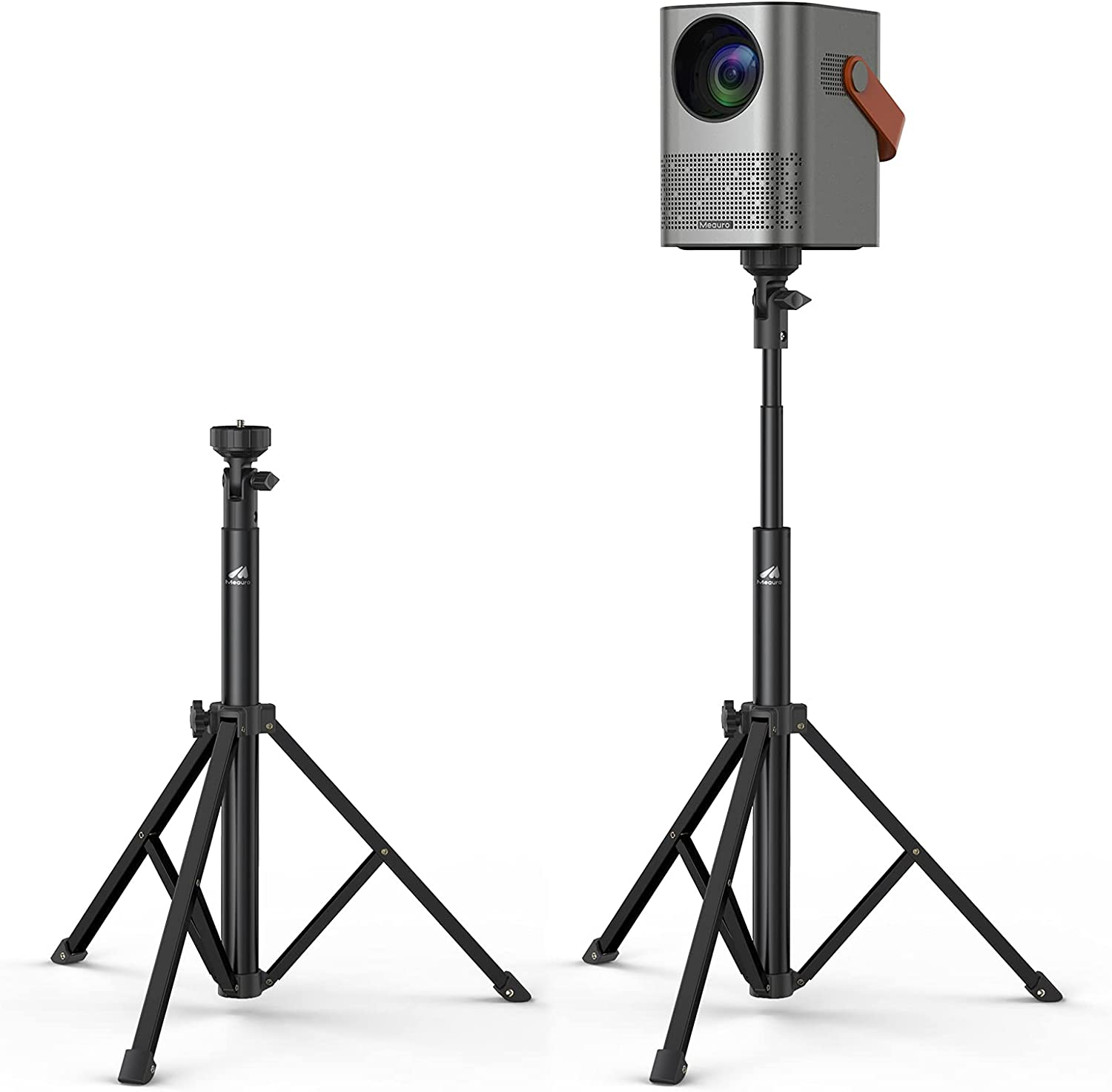 Adjustable Height Stand, Projector Meauro Tripod Bag Carry with ...