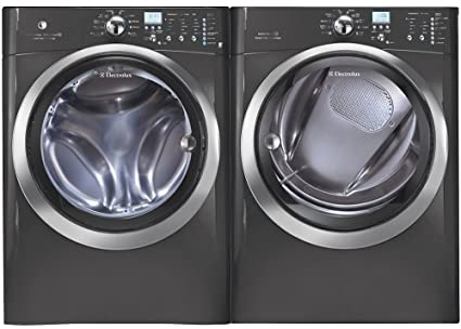 Amazoncom Electrolux Titanium Front Load Laundry Pair with