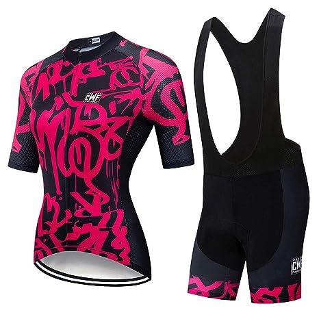 YDJGY 2019 Team Pro Cycling Jersey 19D Gel Bike Shorts Suit ...