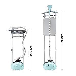 61mcjeLAYOL. SL300  Aigostar Mint 31JHJ, stiratrice verticale da 2000 watt con un serbatoio da 2 litri