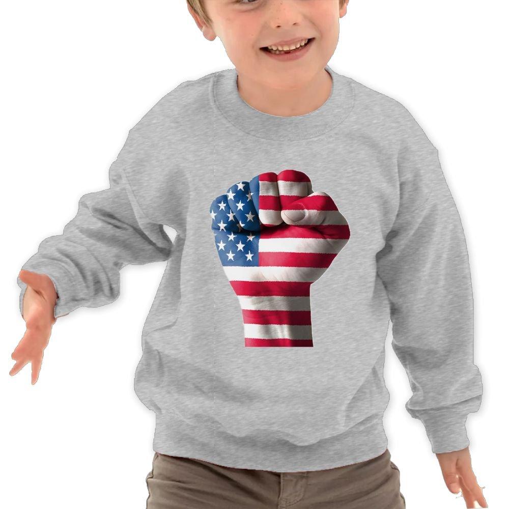 TAGSE Love USA Funny Logo DIY Customized Print Cool O-Neck Long Sleeve T-Shirt Kids Sweatshirts