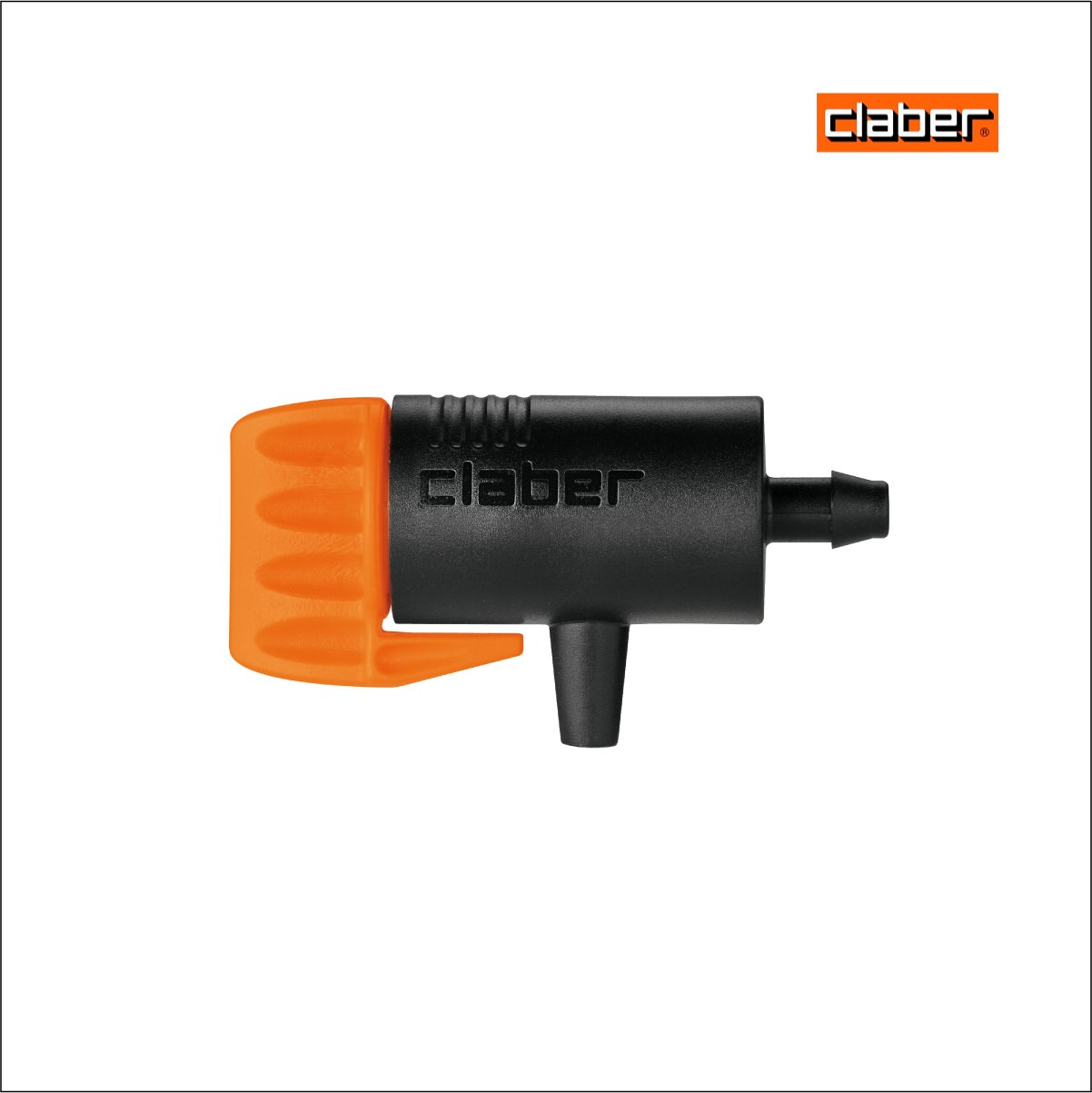Claber Pack of 50 Rainjet End Line Drippers 0-6 litres per hour. Model 91209