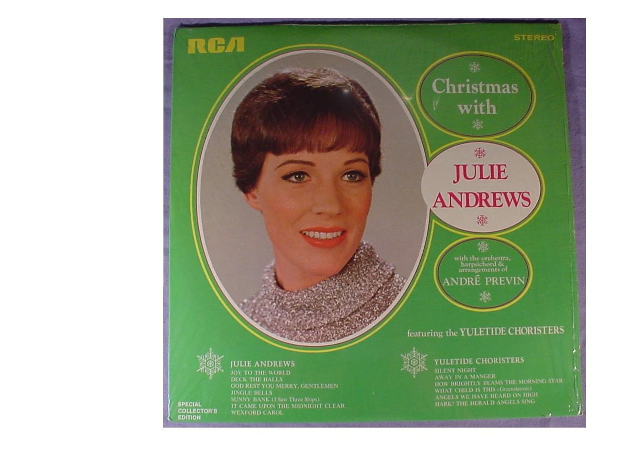 Julie Andrews, Yuletide Choristers, Andre Previn - Christmas With ...