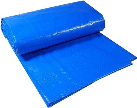 Mejor Precio Cubierta Toldo 4/' X 6/' Azul Liviano Impermeable Base de Lona