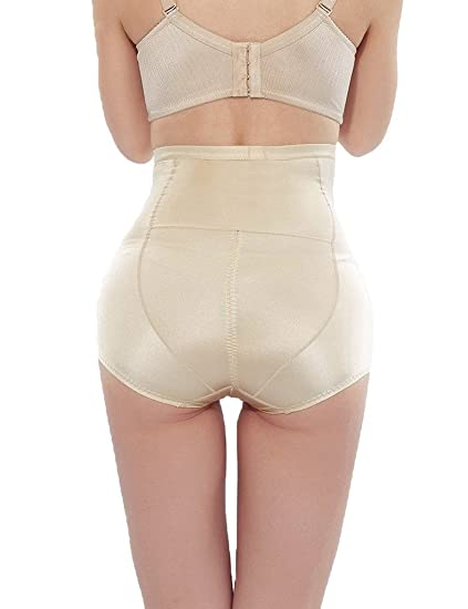 bb3273610a81 FUT Women Butt Lifter Underwear High Waist Shaping Knickers Tummy Control  at Amazon Women's Clothing store: