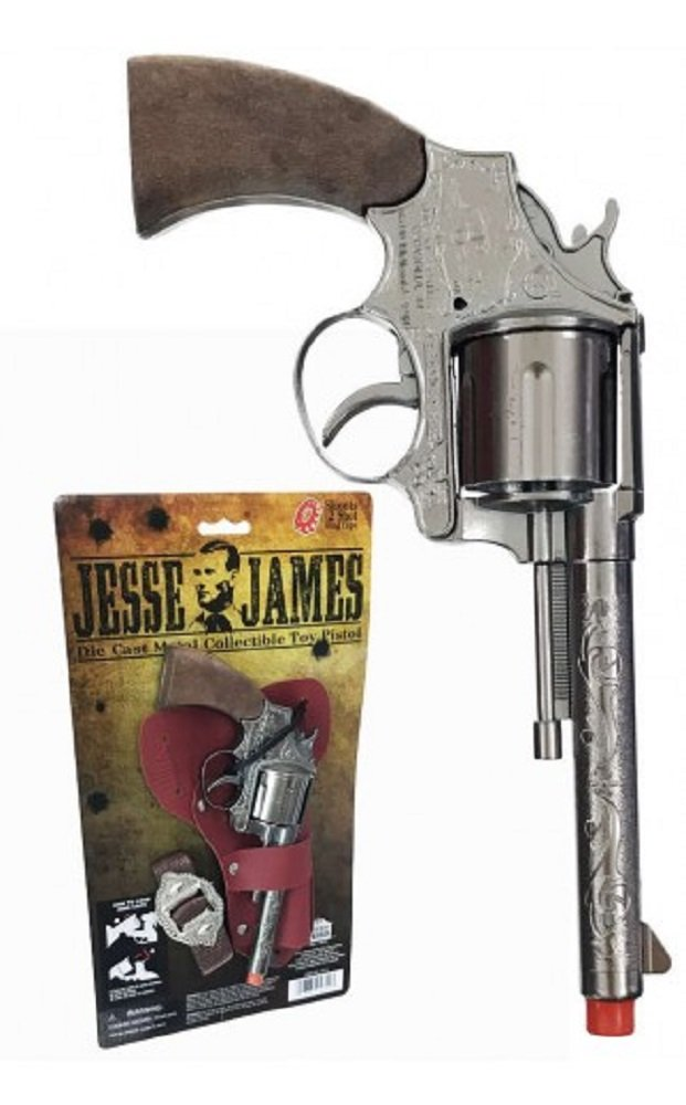 Parris Manufacturing Jesse James Pistol Holster Set Toy