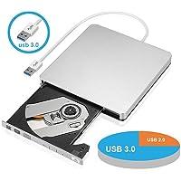 So-Well USB 3.0 External DVD Drive (Silver)