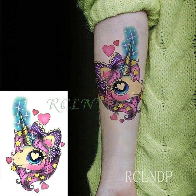 Handaxian 5 Piezas Pegatina Tatuaje Impermeable Tigre Animal ...