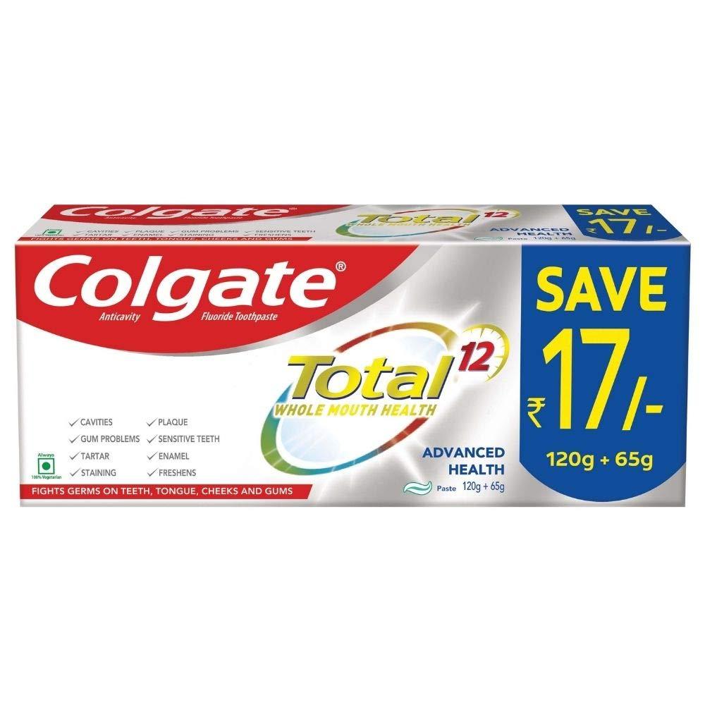 Offer Colgate Antibacterial Toothpaste, 185g