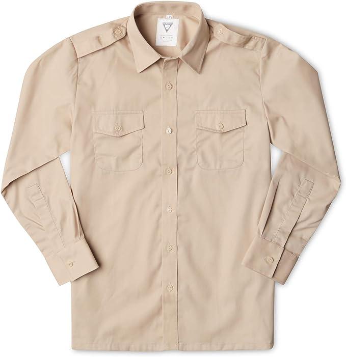 Camisa para niños estilo ejército de Fawn: Amazon.es: Ropa y accesorios