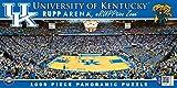 MasterPieces NCAA Kentucky Wildcats Basketball Stadium Panoramic Jigsaw Puzzle, 1000-Piece