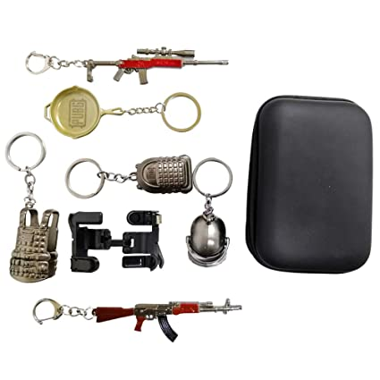 Amazon com: PUBG Mobile Controller Kit [6 Keychains+2