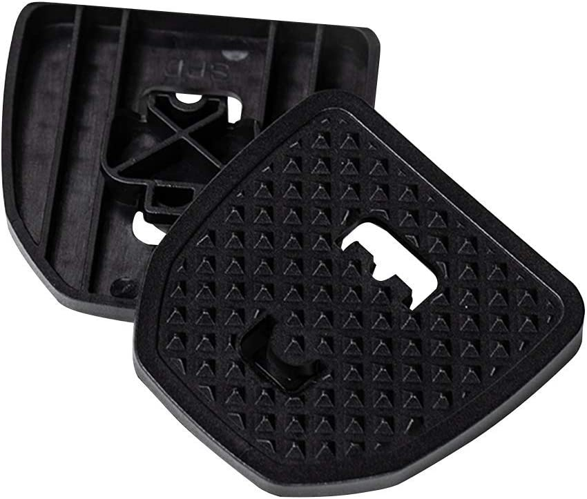 Adapter for Shimano MTB Compatible Adapter for Clipless Pedals No Cleats Needed PP Pedal Plate 2.0 Adding Grip and Comfort