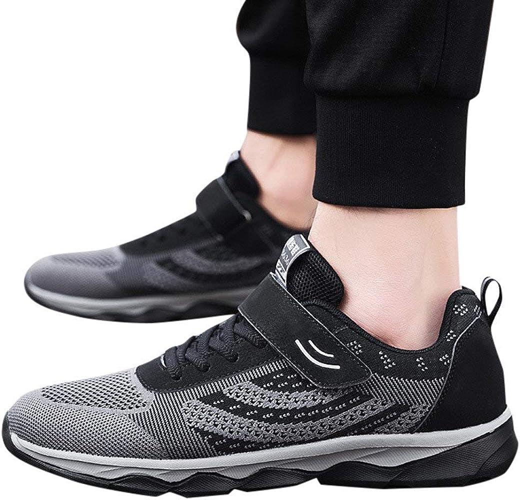 Berimaterry Zapatos Ligeros para Hombres de Edad Avanzada ...