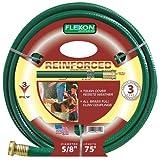 Flexon FR5875 5/8-Inch x 75-Foot 3-Ply Light Duty Garden Hose