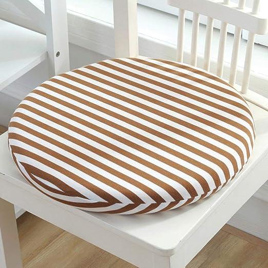 Almohadillas para silla de comedor Cojín redondo ...