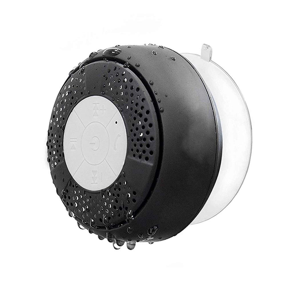AZZ Relaxer Shower Speaker with FM Radio, Waterproof Bluetooth Shower Radio by AZZ