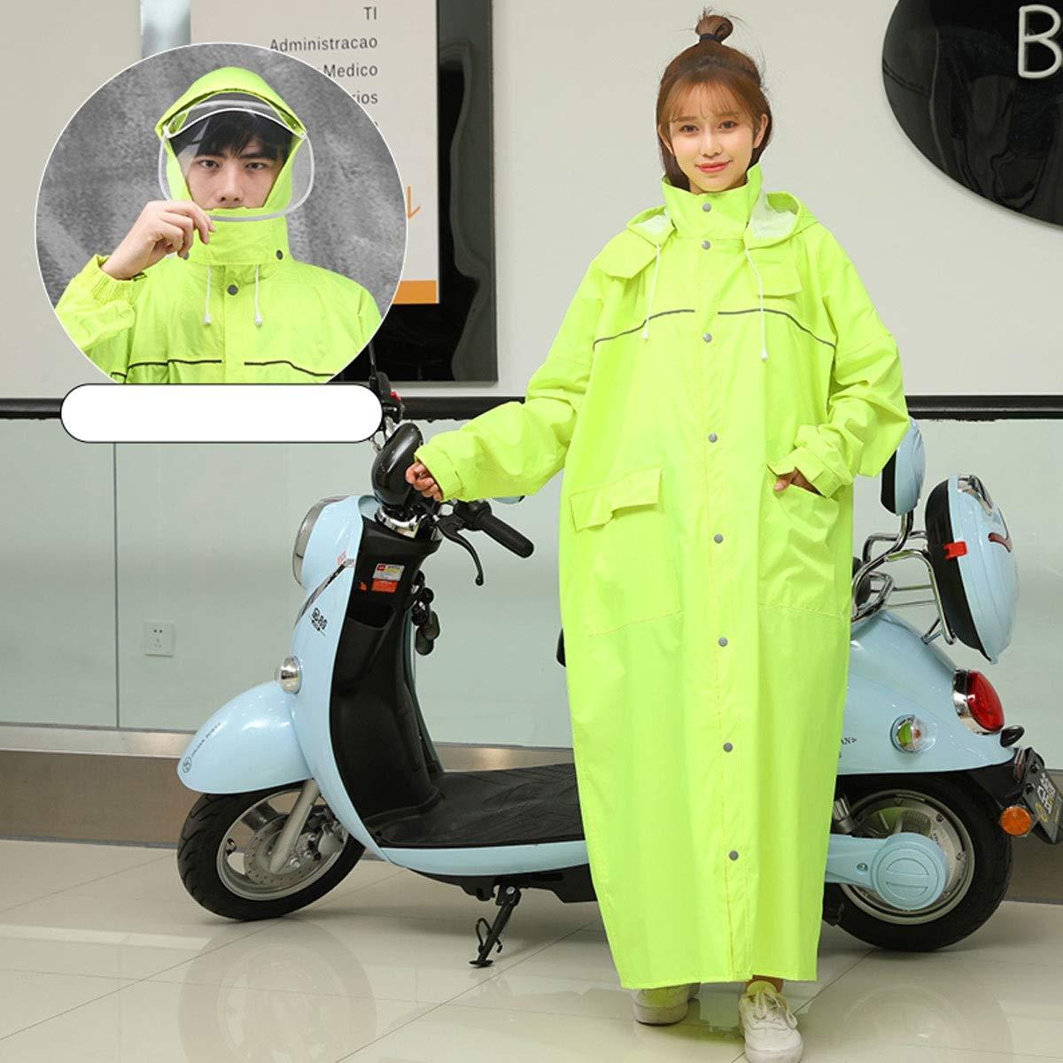 GUYUEXUAN Raincoat, Full Body Raincoat, Riding Hiking Raincoat, Multiple Colors Products 3 (Size : XXXL, Style : F)