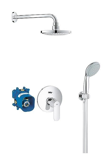 GROHE 25183000 | Euphoria Cosmopolitan Concealed Shower Set: Amazon ...