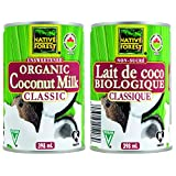 Native Forest Organic Unsweetened Classic Coconut Milk, 12-Count