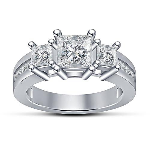 Anillos de boda Vorra o cama de matrimonio alianza de moda con forma de anillo con