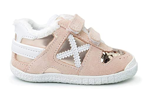 Munich Baby Goal 1408 - Zapatillas Niña Rosa Talla 21: Amazon.es: Zapatos y complementos