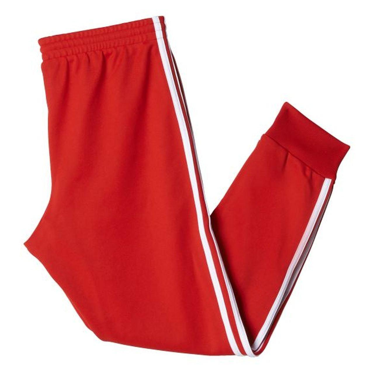 adidas-Chándal de Hombre Cuffed para Hombre, Color Negro Rojo Rojo ...