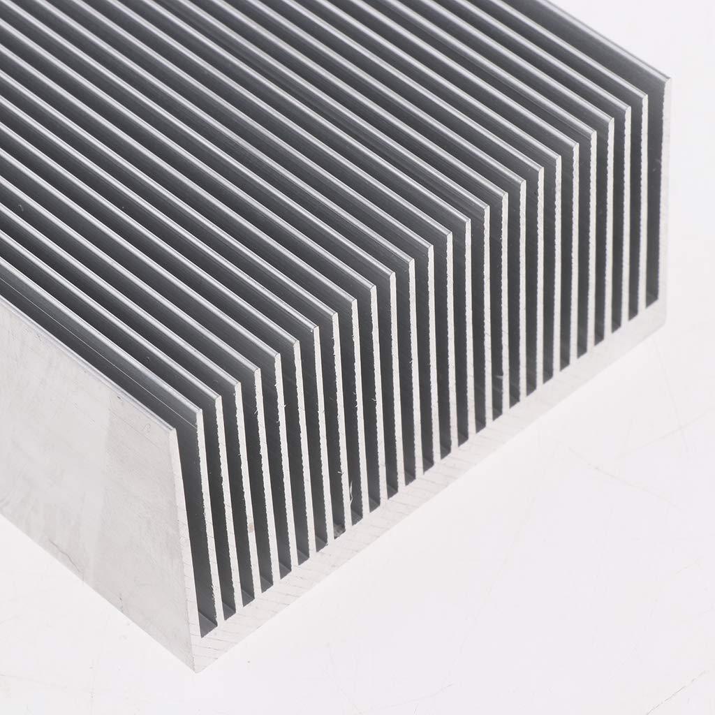 Gazechimp Disipador de Calor de Enfriamiento de Aluminio para Equipos de Iluminaci/ón LED 130 x 69 x 36 mm