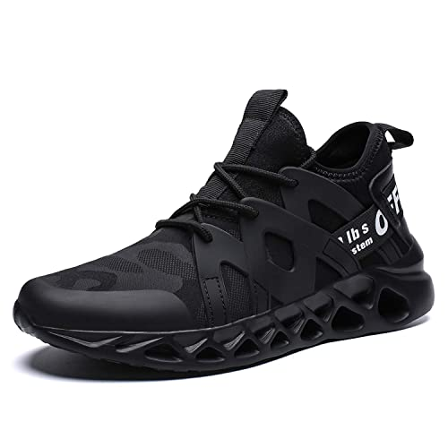 36302f3832ae2 Pozvnn Men's Sneakers Mesh Ultra Lightweight Breathable Athletic Running  Walking Gym Shoes Fashion Personality Shoe Outdoor Sport